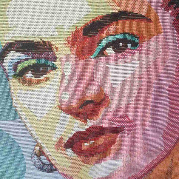 detail jacquard Frida Kahlo