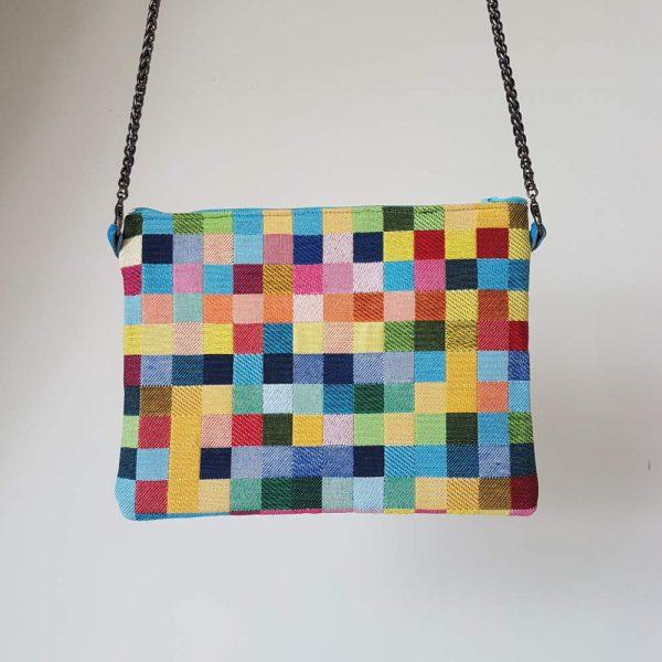 Pochette femme colorée