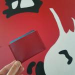 Collection d étuis en cuir pour les cartes de crédit