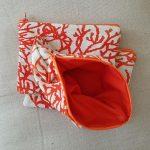 pochette-tissu-orange-motif-corail-20210331